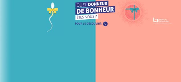 CAMPAGNE NATIONALE DE SENSIBILISATION AU DON DE GAMÈTES